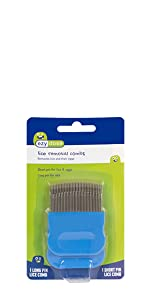 lice comb long short two