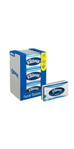 Kleenex 08834060 8834 Caja de Pañuelos Cúbicos, 12 Paquetes de 88 ...