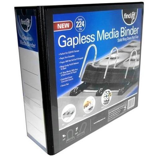 Amazon Com Find It Gapless Mega Media Binder 4 Inch