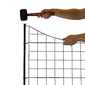 Amazon Com Wambam Fence Wf29001 Garden Metal Fence 147