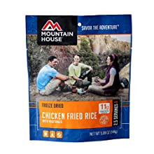 Mountain House chicken fried rice with vegetables pouch product image