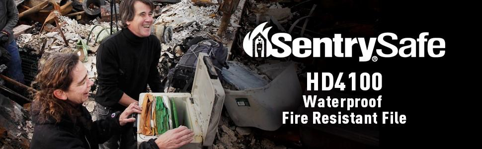 SentrySafe Fire and Water Resistant File
