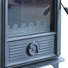Amazon Com Hi Flame Ff 905 Shetland Wood Stove Black