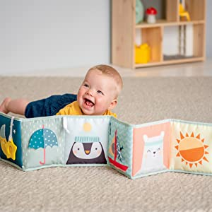 taf toys soft book baby book tummy time book baby soft book baby toy