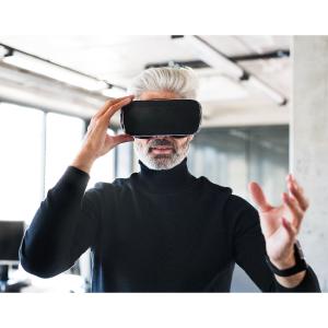 virtual reality VR oculus rift goggles