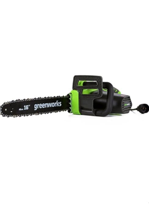 12Amp chainsaw greenworks corded
