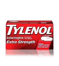 Extra Strength Tylenol, Tylenol, Acetaminophen, pain relief
