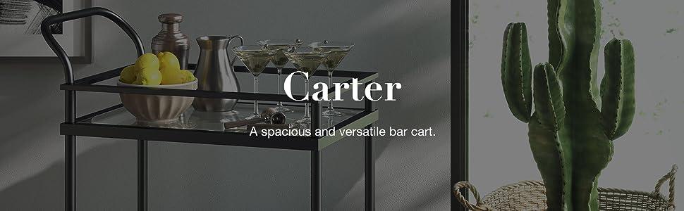carter, nathan james, nathan home, bar cart, design, style, affordable, comfort, quality