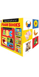 My First Gift Set of Foam Books: Foam Books For Babies (ABC Alphabet, 123 Numbers, Colors, Shapes)