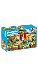 PLAYMOBIL City Life Coche Familiar con Parking, A partir de 5 años (9404): Amazon.es: Juguetes y juegos