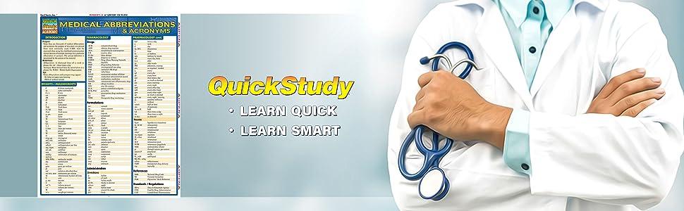 Medical Abbreviations & Acronyms (Quick Study Academic): Inc