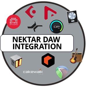 GXP Nektar DAW Integration