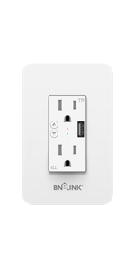 BN-LINK In-Wall Wifi USB Outlet