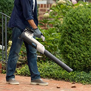 onepwr hoover cordless system network family leaf blower sweeper powerful outdoor garage dirt mess