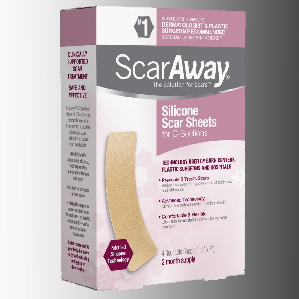 Amazon.com: ScarAway Long Professional Grade Silicone Scar ...