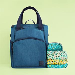 baby & beyond change bag with nappies