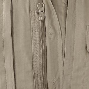 Tactical, Shirt, Zipper, Pocket