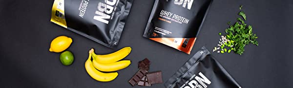 PBN - Premium Body Nutrition PBN - Paquete de proteínas para veganos, 1 kg (sabor chocolate con avellanas)