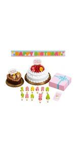 シルバニアファミリー 家具 バースデーケーキセット