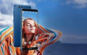 "Honor 7X - Smartphone Android 7.0 (pantalla infinita 5,93"" 18:9, 4G, cámara 16MP+2MP, 4GB RAM, 64GB"