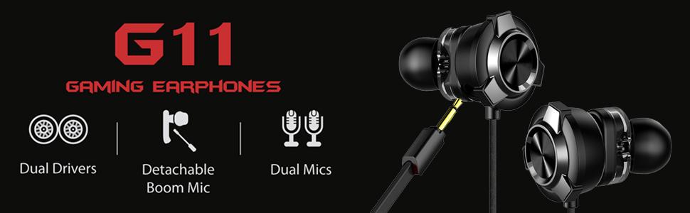 gaming earphones for pubg