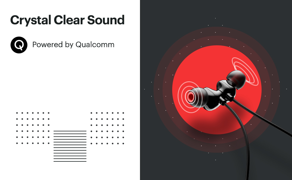 noise tune charge,neckband bluetooth earphones, wireless neckband, qualcomm powered chipset,