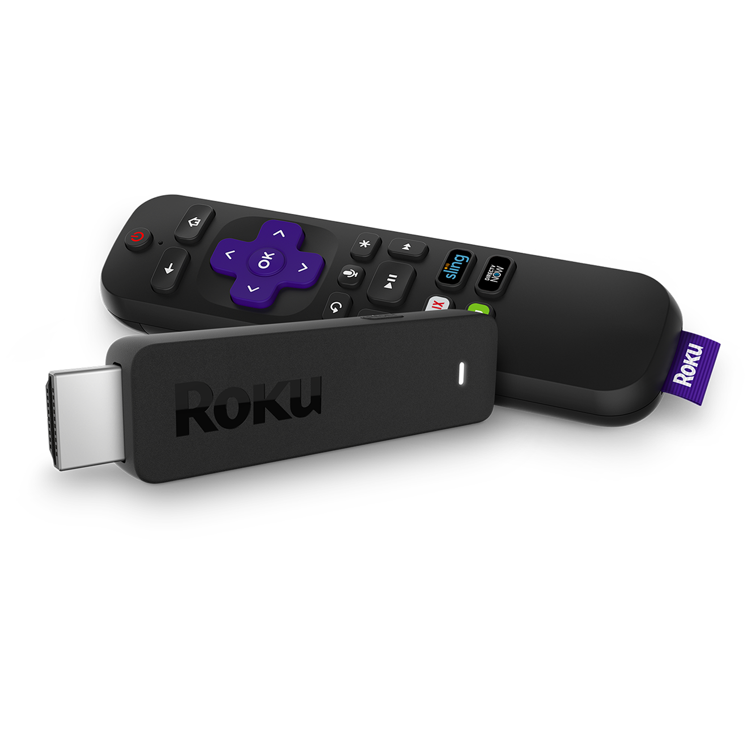 how to connect roku stick to tv