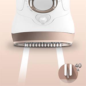 Braun Silk-épil 9 SkinSpa 9-961v - Sistema de exfoliación, cuidado de la piel y depilación eléctrica