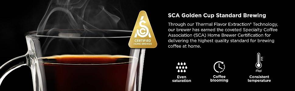 CM401, Ninja, Specialty, Coffee Maker, SCA, Golden Cup