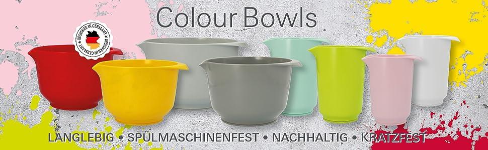 Bol mélangeur coloré RBV Birkmann - Plusieurs couleurs disponibles
