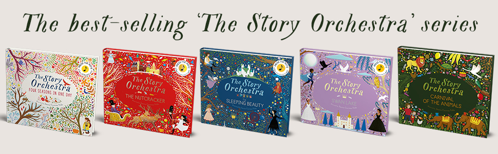 sound books, classical music, children's book, illustrated book series, sleeping beauty