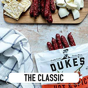 Duke's Shorty Sausages – Gluten Free and Keto Snacks