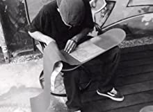 grip on skateboard, griptape trim, skateboard deck grip tape