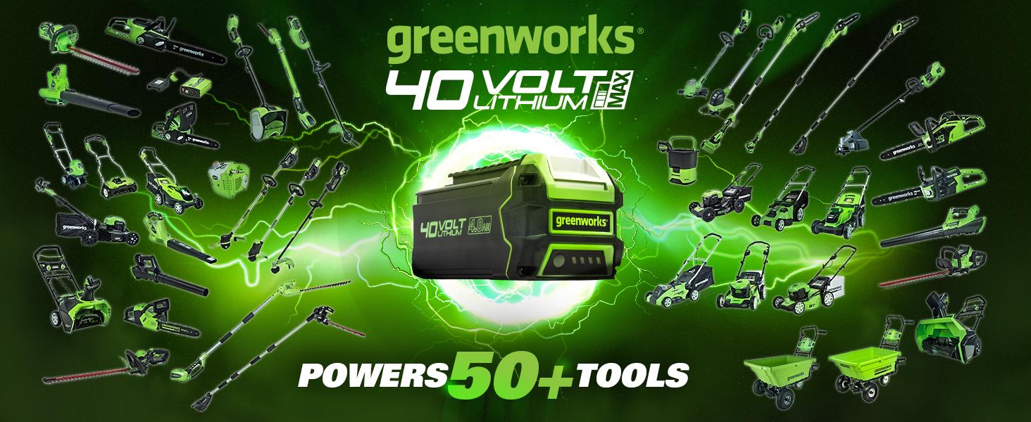 cordless battery lawn mower