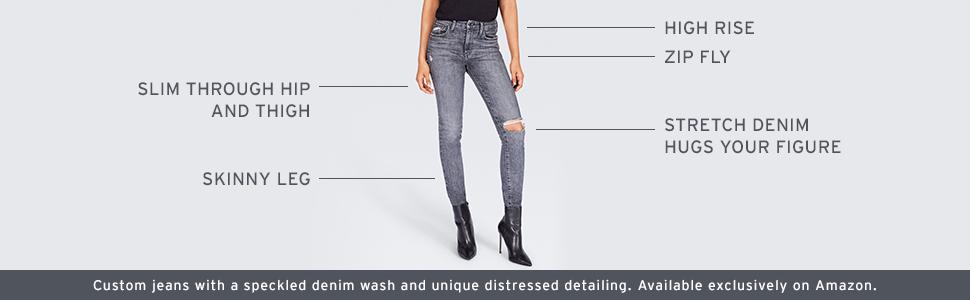 Custom Levi's Jeans, Fit Features