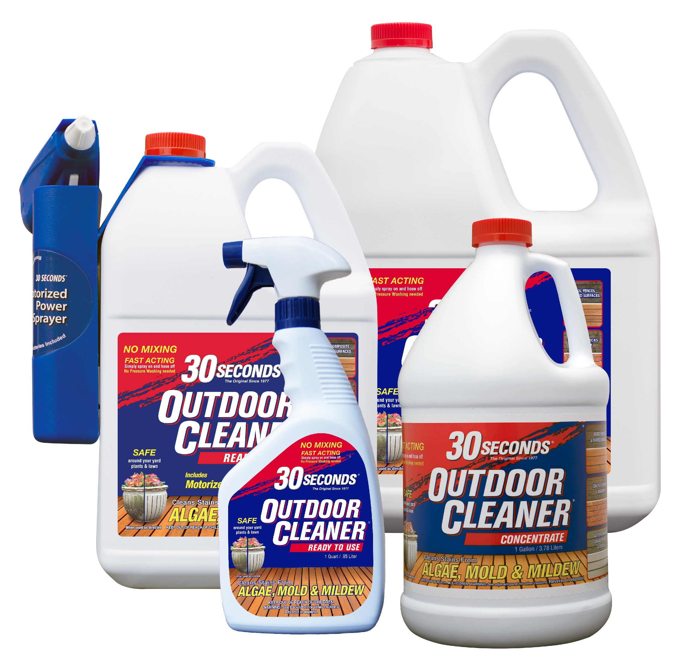 30 Seconds Outdoor Cleaner 2 5 Gallon Concentrate