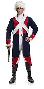 Men's Revolutionary Soldier Costume