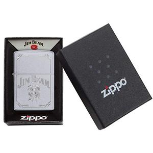 packaging, one box, silver lighter, zippo windproof lighter,