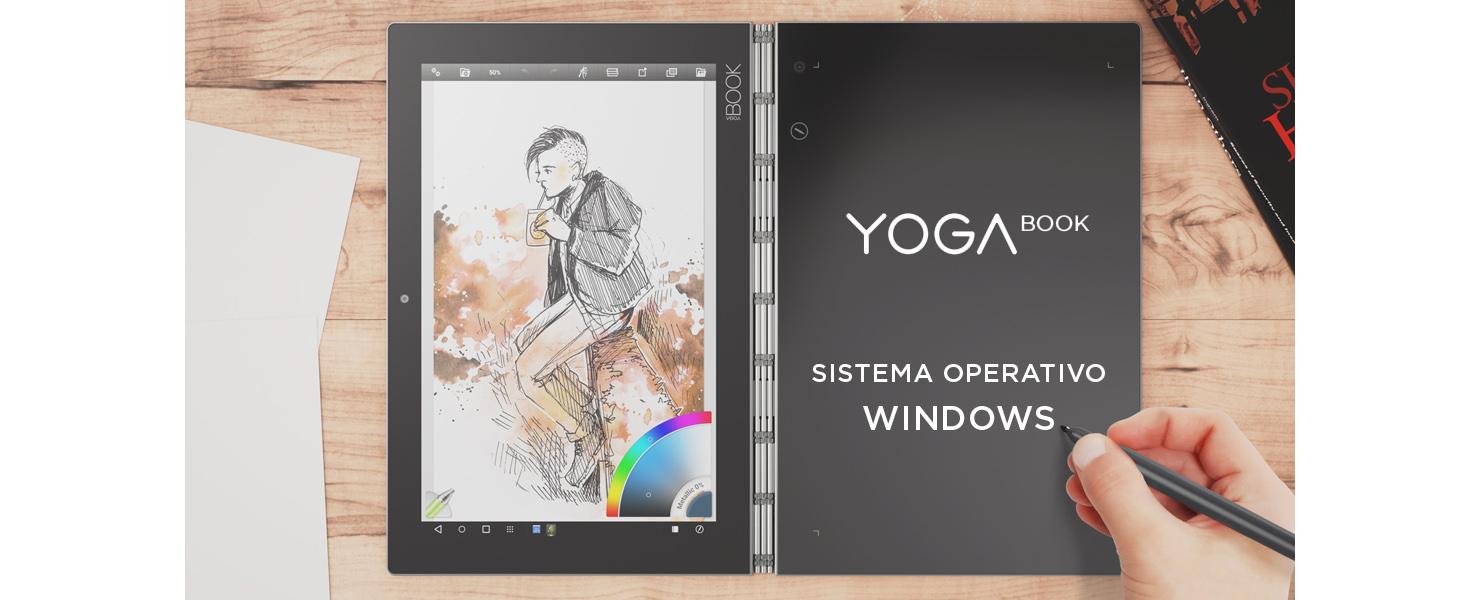 Lenovo Yoga Book, Tablet de 10.1