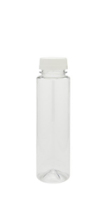 Find the perfect fit for storing premade smoothies and shakes with plastic juicing bottles.