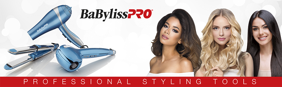 BaBylissPro Hair setting tools, flat irons, hair dryers, curlers,