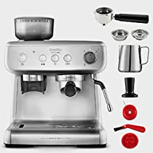 Breville Barista Max VCF126X - Máquina de café expreso, totalmente ...