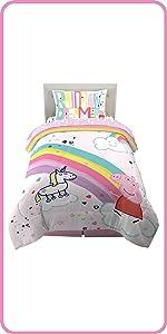 Entertainment One Peppa Pig Kids Bedding Room Decor