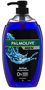 Men Active Body Wash With Sea Minerals