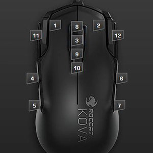 ROCCAT Kova AIMO Ambidextrous RGB Gaming Mouse