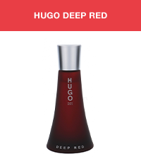 HUGO Deep Red Eau de Parfum - Fragrance for Women 1.6 fl.oz.
