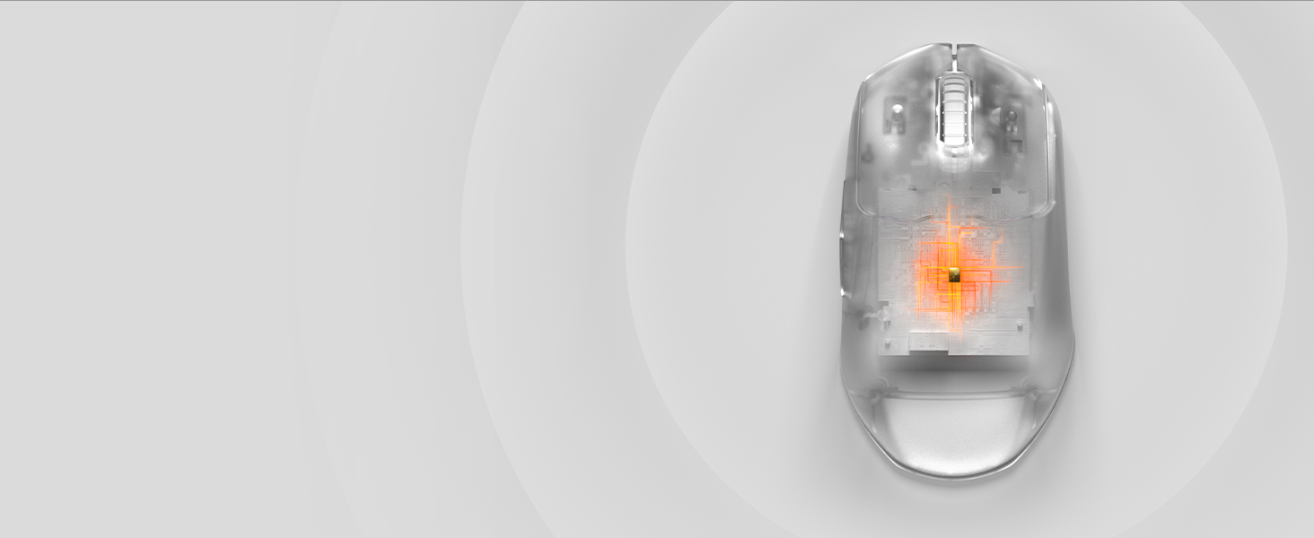 -SteelSeries Prime Wireless mouse with Quantum Wireless chip inside