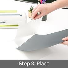 Step 2: Place