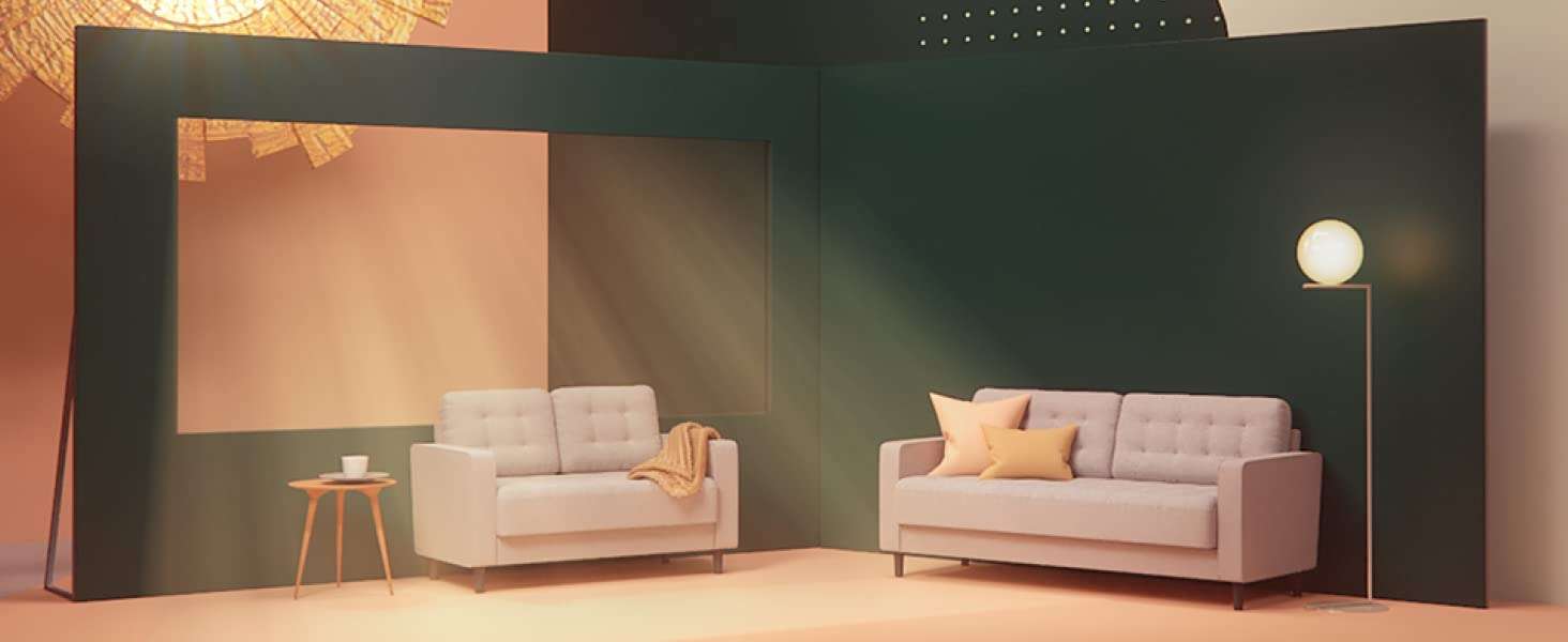 zinus sofa and loveseat