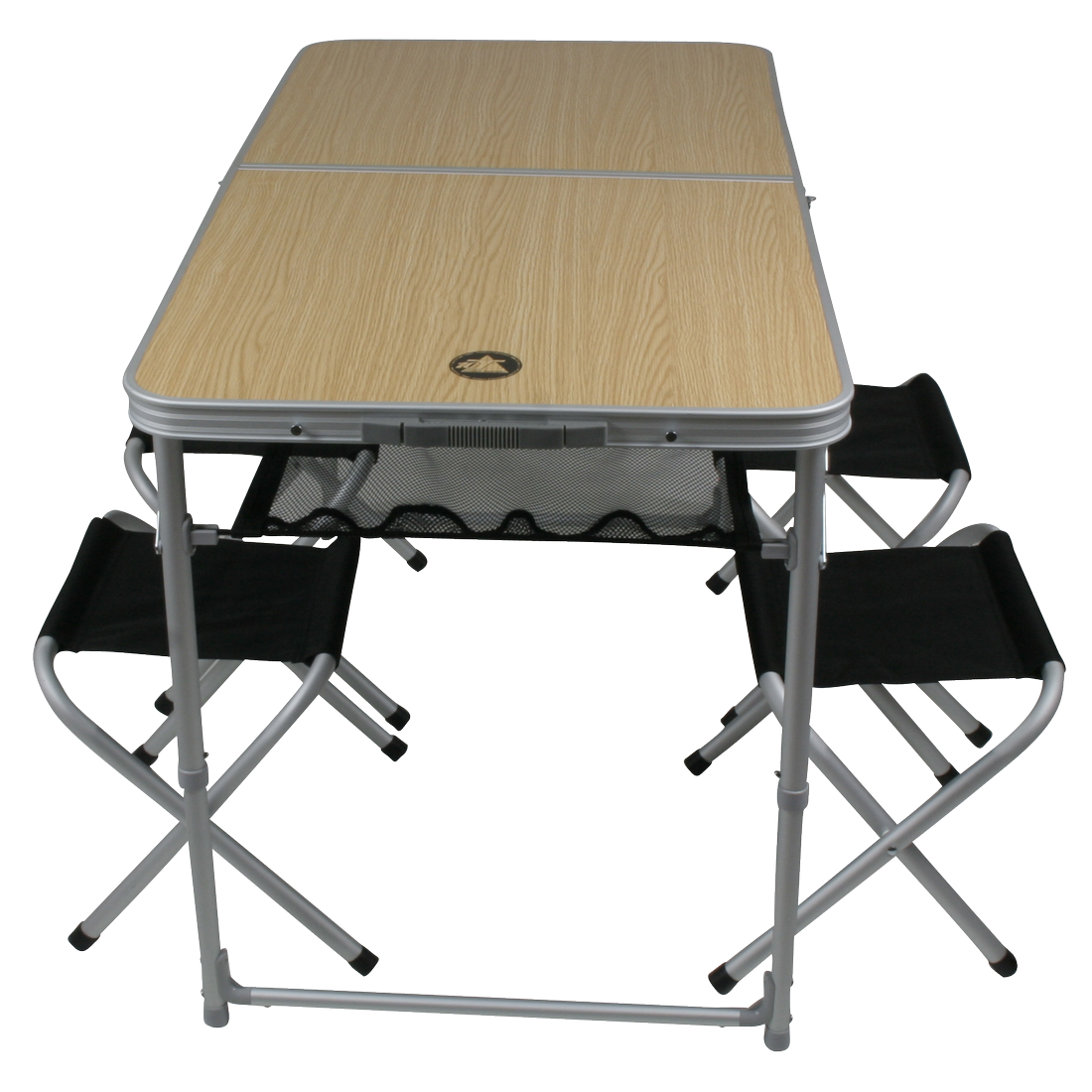 10t portable family alu campingtisch mit hocker f r 4 personen picknick sitzgruppe tisch hocker. Black Bedroom Furniture Sets. Home Design Ideas